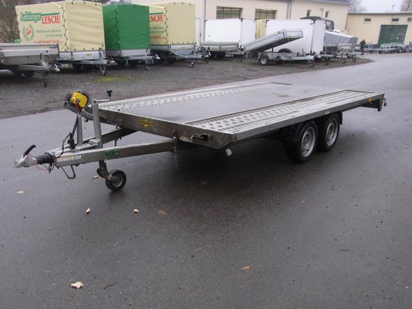 4,20m 3,0t Autotransportanhänger kippbar