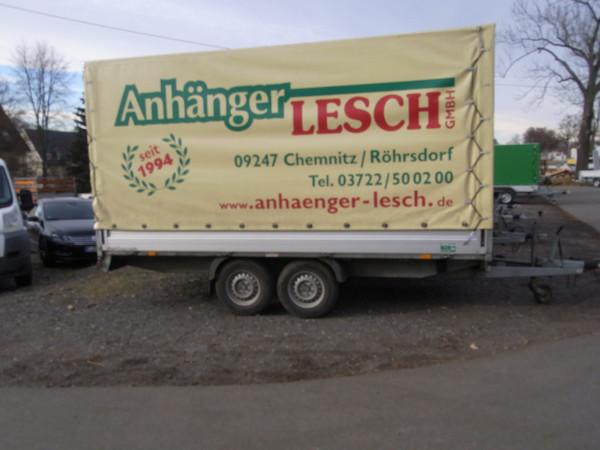4,10m Tandem Hochlader Hochplane
