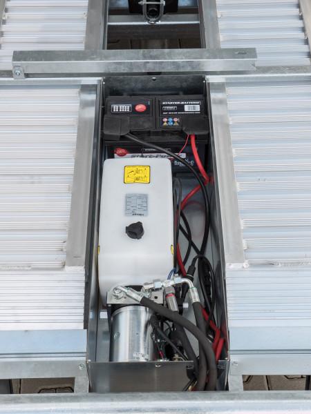 E-Pumpe kombiniert mit Handpumpe